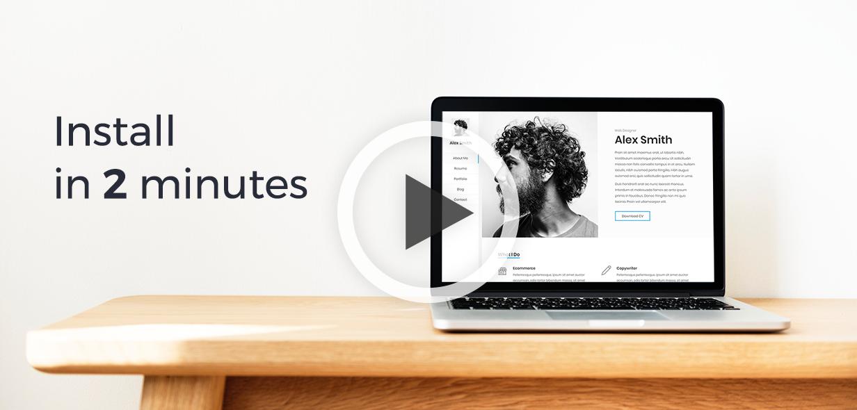 Kerge | CV Resume Theme Download