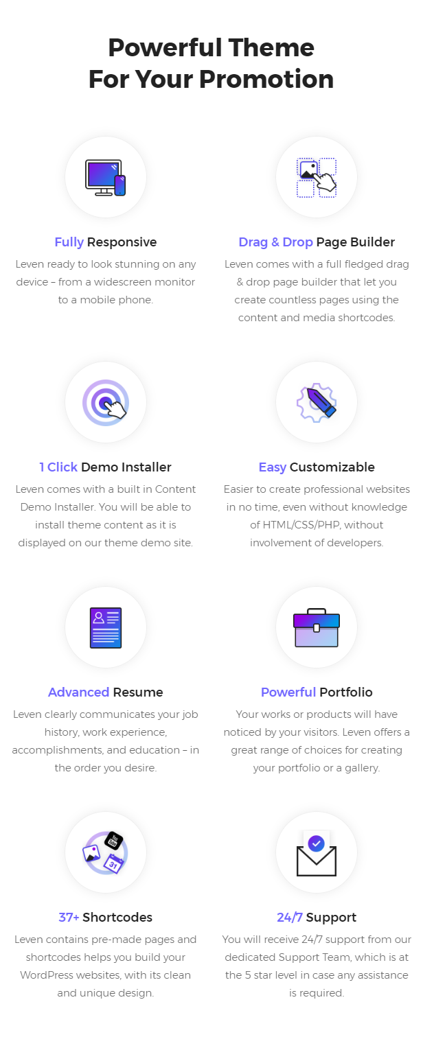 Leven | CV/Resume Theme - 5